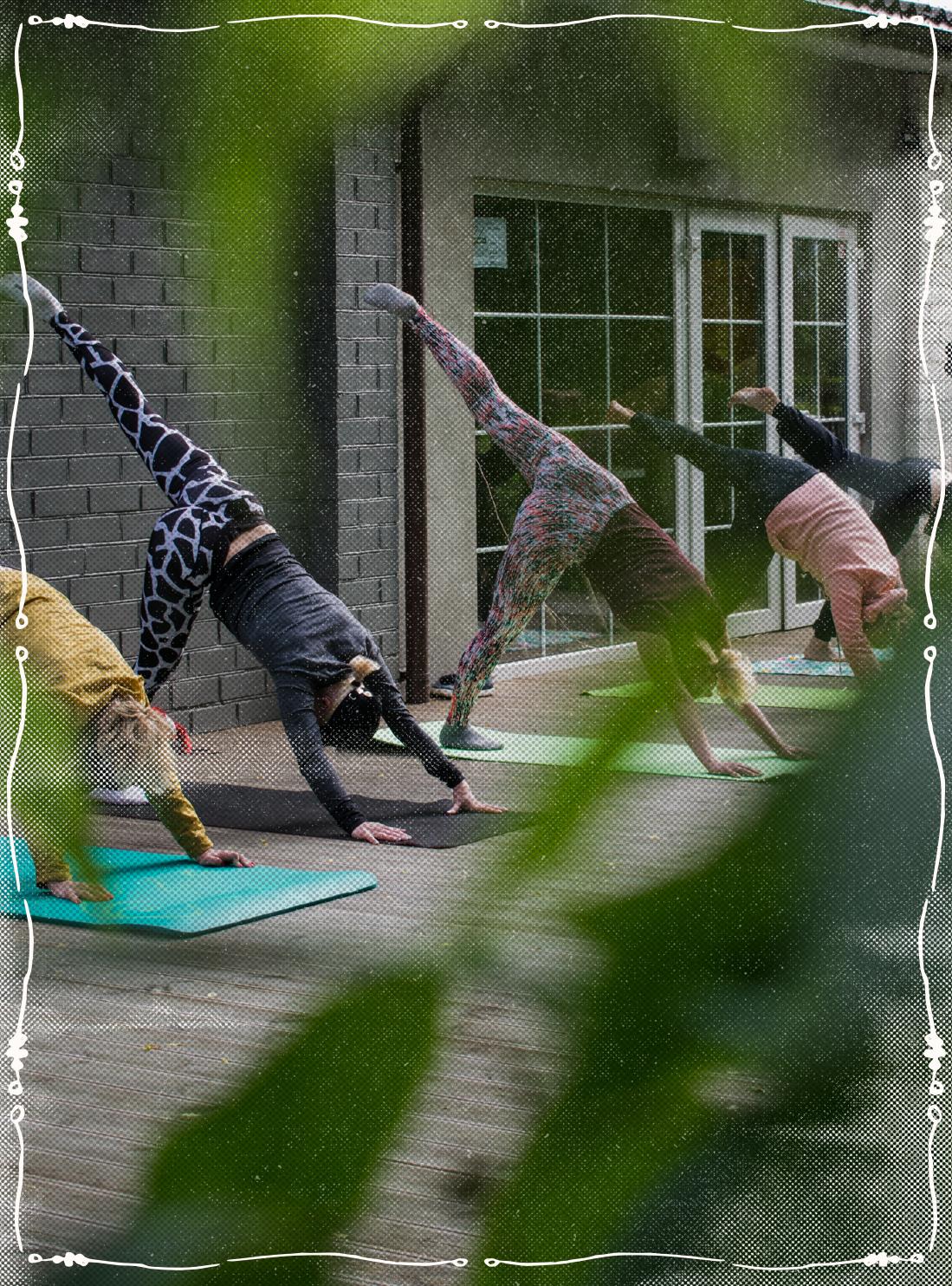 yoga class east london